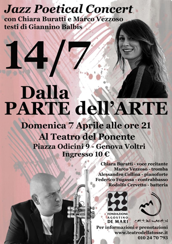 """Marco Vezzoso e Chiara Buratti presentano """"14/7 dalla parte dell'arte"""", uno spettacolo autobiografico che racconta l'attentato di Nizza del 14 luglio 2016"""