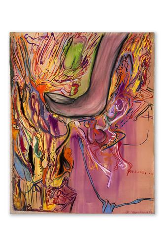 Mondino a colori. La pittura dagli esordi al linoleum. La retrospettiva di Aldo Mondino