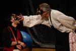 Dialogo tra Prometheu e Sisifou intorno al fegato con le cipolle al Teatro Tordinona di Roma l'8, 9 e 10 marzo