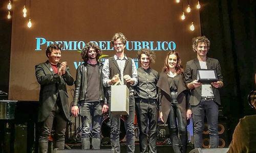 Gli amici dello zio Pecos ricevono il premio del pubblico alle audizioni di Musicultura