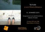 Interno 14 next inaugura la nuova sede #inresidence a Roma con un progetto pensato per il Mese della Fotografia: fe/male con le opere di Isabella Borrelli