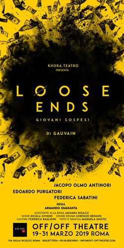 Loose Ends – Giovani Sospesi, lo spettacolo in prima nazionale al Off/Off Theatre di Roma