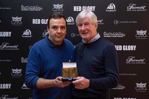 Martin Edwards (Manchester United), premiato in Franciacorta da Arte&Golf