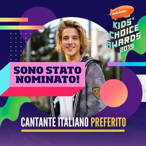 """Matteo Markus Bok: ultimi giorni per votarlo come """"cantante italiano preferito"""" per i Kids' Choice Awards 2019! Si vota sul sito e via Twitter"""