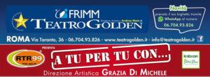 Morgan apre la rassegna A tu per tu con… al Teatro Golden di Roma