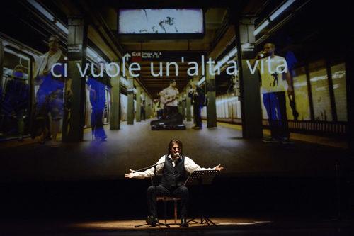 Battiato|Pirandello. L'uomo dal fiore in bocca e altre canzoni. Un concerto spettacolo con Paolo Scheriani e la regia di Nicoletta Mandelli al Pacta Salone di Milano
