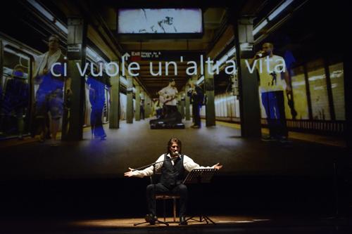 Battiato|Pirandello. L'uomo dal fiore in bocca e altre canzoni. Un concerto spettacolo con Paolo Scheriani e la regia di Nicoletta Mandelli