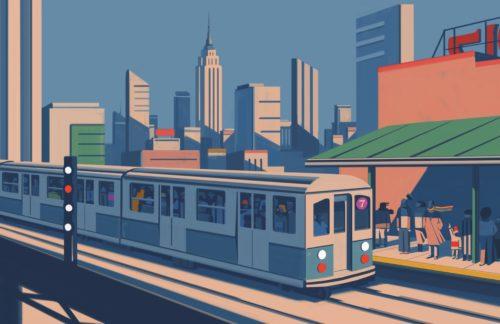 Emiliano Ponzi. La grande mappa della metropolitana di New York – The Great New York Subway Map. Inaugurazione il 31 marzo al MAMbo di Bologna
