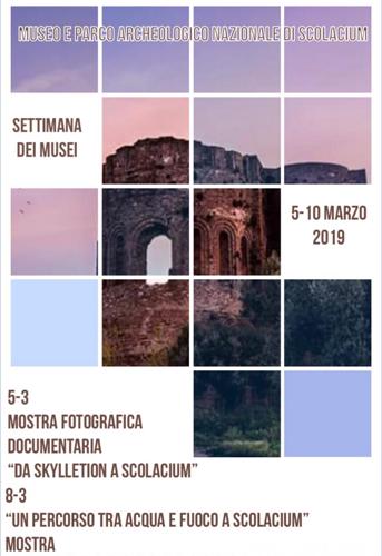 Settimana dei Musei indetta dal MiBAC, i luoghi della cultura statali che celebrano le iniziative comunicate da il Polo museale della Calabria