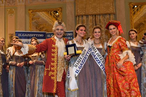 Carnevale di Venezia 2019: Linda Pani proclamata Maria dell'Anno 2019 ed Eleonora Boscolo Maria dei Lettori del Gazzettino