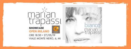 Marian Trapassi live @Open Milano per presentare dal vivo l'album Bianco