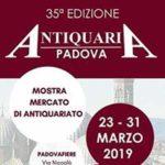 Tripudio Serenissimo alla 35^ Padova Antiquaria aperta oggi in Fiera a Padova