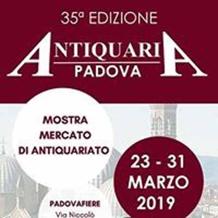 Apre sabato la 35^ Padova Antiquaria. Per la prima volta espongono tutti gli antiquari padovani