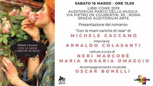 Con le mani cariche di rose: la presentazione all' Auditorium Parco della Musica di Roma