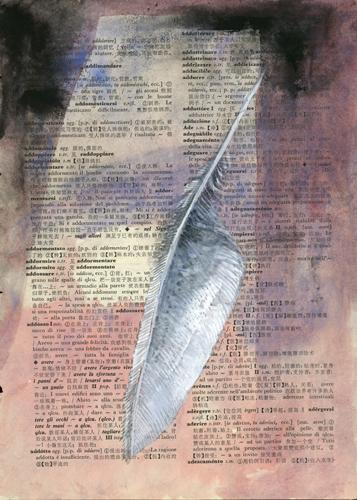 Dicòtomo - Punto rosso, la mostra di Michele Marinaccio alla Fine Art Gallery Roma