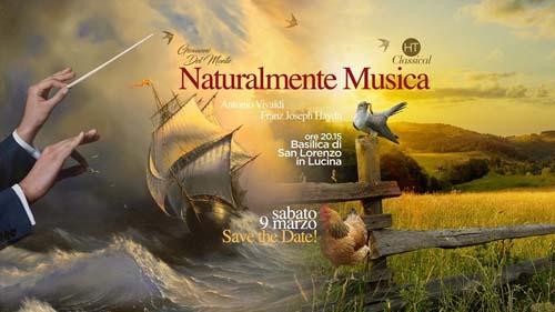 """""""Naturalmente Musica"""", un viaggio nella musica classica presso la Chiesa di San Lorenzo in Lucina di Roma"""