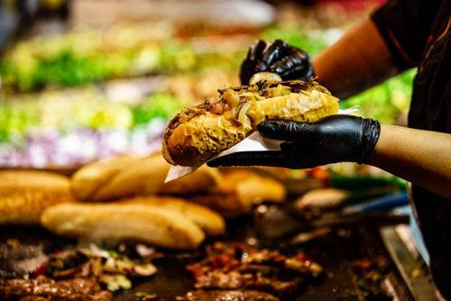 Silent Party per la seconda tappa della terza edizione del Festival Internazionale dello Street Food 2019 a piazza San Giovanni Bosco a Roma