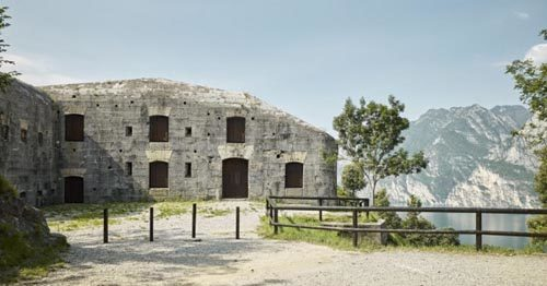 Domenica 28 aprile apertura eccezionale del Forte Batteria di Mezzo, sul monte Brione di Riva del Garda