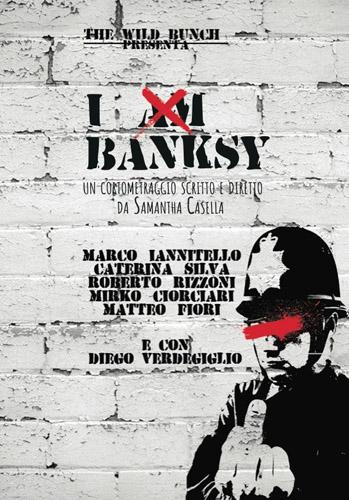 """Successo internazionale per """"I am Banksy"""" il cortometraggio di Samantha Casella con protagonista Marco Iannitello"""