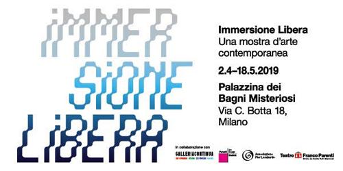 Immersione Libera, la mostra collettiva a cura di Giovanni Paolin negli spazi della Palazzina dei Bagni Misteriosi di Milano