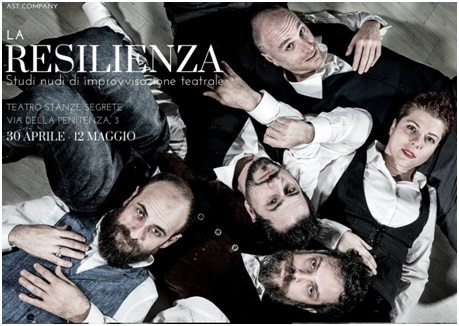 LA RESILIENZA di AST Company torna dal 30 aprile al Teatro Stanze Segrete di Roma