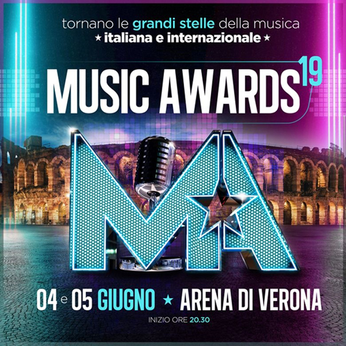 I Music Awards tornano all'Arena di Verona