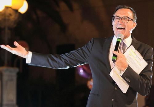 Nino Graziano Luca conduttore della XXX Edizione del Gran Gala delle Margherite