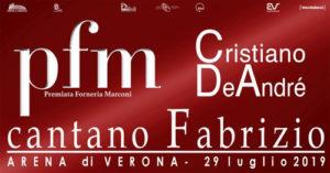 PFM Premiata Forneria Marconi e Cristiano De André danno appuntamento all'Arena di Verona