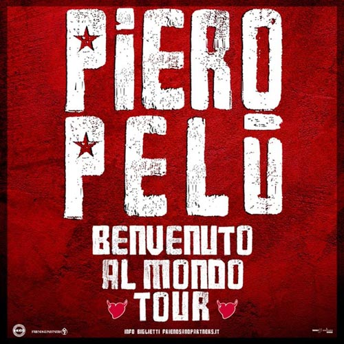 Piero Pelù torna live in Italia con