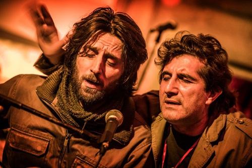 ph. Angelo Trani L'orso 'nnammurato. Sollo & Gnut live all'Angelo Mai di Roma in full band