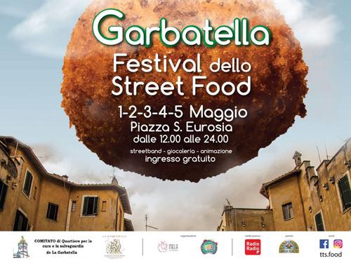 Primo Maggio alla Garbatella a Roma al via lo Festival Street Food