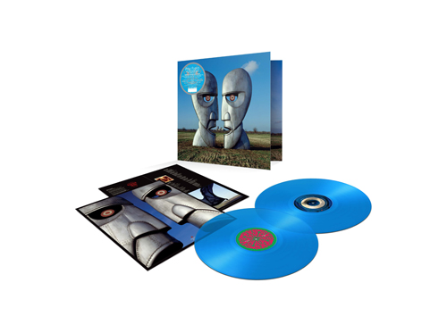 Pink Floyd, The Division Bell 25TH anniversary limited edition blue vinyl