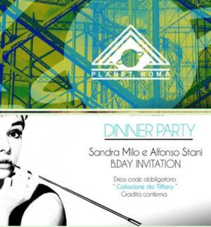 Compleanno di Sandra Milo e Alfonso Stani Onassis, svelata la location