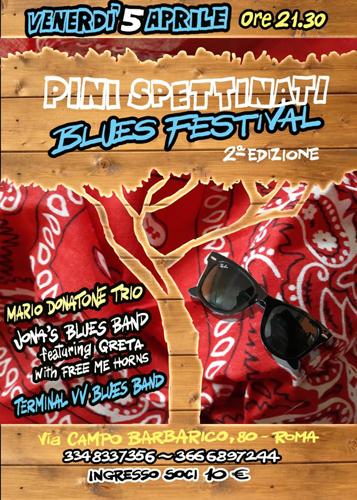 Pinispettinati Blues Festival, al via la seconda edizione