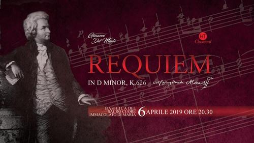 """H.T CLASSICAL presenta """"La Messa Da Requiem di Mozart"""" presso la Basilica del Sacro Cuore Immacolato di Maria di Roma"""