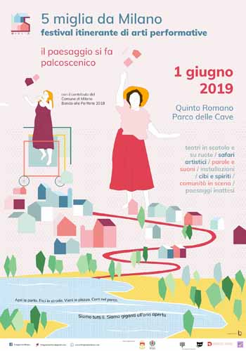 """5 Miglia da Milano, al via a Quinto Romano il primo festival di arti performative dove """"il paesaggio si fa palcoscenico"""""""