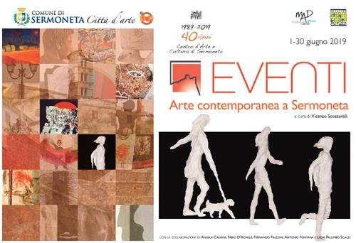 Arte Contemporanea a Sermoneta, gli eventi in programma dal 1 al 30 giugno 2019