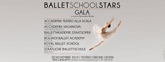 Ballet School Stars. Galà di talenti da prestigiose Scuole della danza internazionale