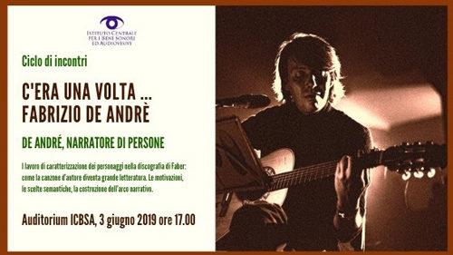 C'era una volta… Fabrizio De André