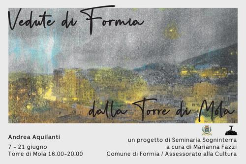 Vedute di Formia. Dalle Torri di Castellone e Mola, il progetto artistico alle due torri di Formia