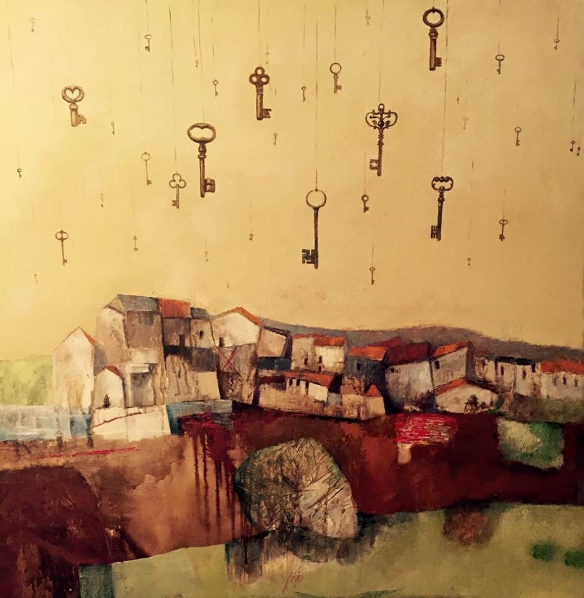 Permettetemi di volare, la mostra personale di Donatella Violi a cura di Luigi Borettini alla Cantina Albinea Canali di Reggio Emilia