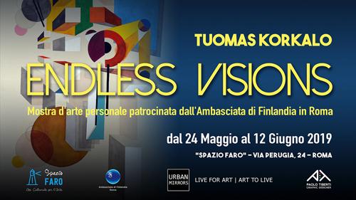 Endless Visions, la mostra personale di Tuomas Korkalo allo Spazio Faro di Roma