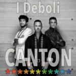 """""""I deboli"""", quinto singolo del nuovo progetto """"1/3 – Uno su tre"""" dei Canton"""