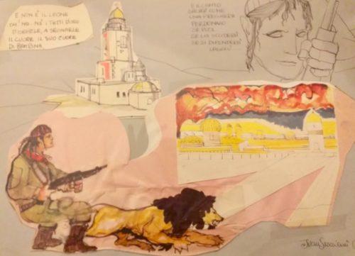 """""""Il disegnatore è libero"""", le opere di Ivan Graziani in mostra al Museo internazionale e biblioteca della musica di Bologna"""