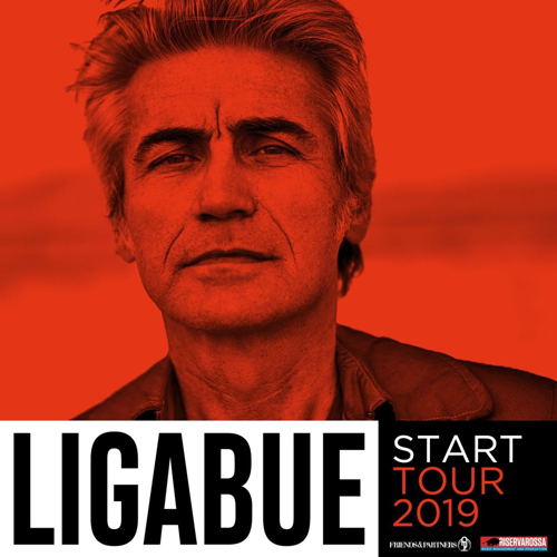"""""""Start Tour 2019"""" di Ligabue, al via il 14 giugno dallo Stadio San Nicola di Bari"""
