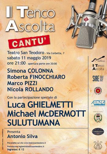 Roberta Finocchiaro in concerto a Cantù in occasione del Tenco Ascolta