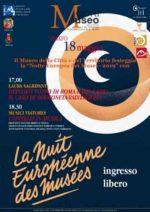 La Notte Europea dei Musei 2019 a Cori