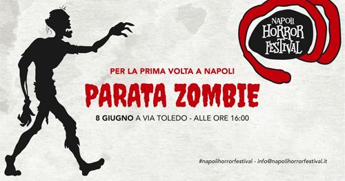 A Napoli sbarca per la prima volta la Parata Zombie