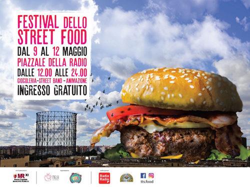 Lo Festival Street Food approda a piazzale della Radio a Roma