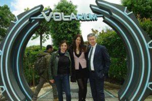 Grande successo per l'apertura di Volarium, il primo cinema volante